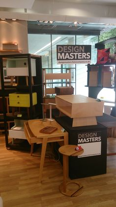The Design Masters Display At Futon Company Tottenham Court Road Has Had A Little Change Around