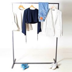 """""""@Tibi designer Amy Smilovic's core uniform consists of vintage #Levis, silk sweatshirts, and, naturally, plenty of Tibi. Read more about her enviable…"""""""