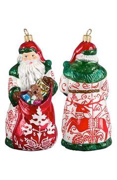 Joy to the World Collectibles 'Glitterazzi' Bratislava Santa Ornament