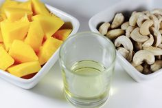 Cashews and Mango Smoothy/Batido de mango y anacardos