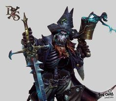 Albrokh, the undead ork pirate