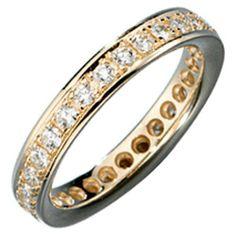 Damen-Ring mit Diamant-Brillanten rundum 14 Karat (585) Gelbgold 0.75 ct. 54 (17.2) Dreambase, http://www.amazon.de/dp/B00AEEFMM8/ref=cm_sw_r_pi_dp_ze8wtb1YTJR56
