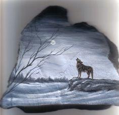 Wolf...on+rock+by+Arteestique.deviantart.com+on+@DeviantArt