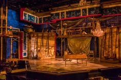 Amadeus. Center Stage Baltimore. Scenic design by Timothy Mackabee.