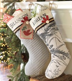 Could DIY these stockings