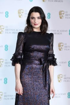 Rachel Weisz poses in the press room during the EE British Academy Film Awards (BAFTA) held at Royal Albert Hall on February 18, 2018 in London, England.