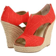 Wedge Sandals.