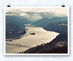 What a beautiful image! Columbia River gorge photography, beauty is everywhere, cotton rag. by BleuOiseau via Etsy Beauty Photography, Fine Art Photography, Columbia River Gorge, Female Photographers, The World's Greatest, Beautiful Images, Airplane View, Artsy, Nature