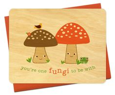 Night Owl Paper Goods|Cards by Occasion|love|you're a fungi