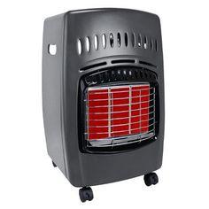 DuraHeat 18,000 BTU Portable Propane Infrared Compact Heater