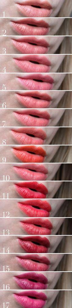 ALABASTER MAEDCHEN: ILIA Beauty Swatches Tinted Lip Conditioners & Lipsticks