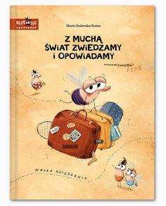 Z muchą świat zwiedzamy i opowiadamy - Marta Galewska-Kustra - Nasza Księgarnia Winnie The Pooh, Books To Read, Kid Books, Origami, Baby Kids, Disney Characters, Fictional Characters, Family Guy, Education