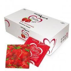 Prezerwatywy MoreAmore Tasty Skin - o zapachu truskawki - 1 szt.