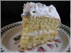 Recipe Coconut Cake Puerto Rico  ( Recetas Puertoriqueñas )