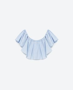 Image 8 of OFF-THE-SHOULDER TOP from Zara