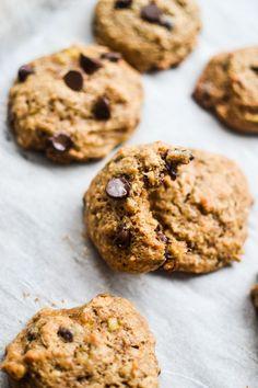Peanut Butter and Banana Breakfast Cookies - Warm Vanilla Sugar