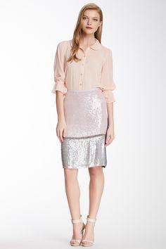 Cynthia Rowley Sequin Pencil Skirt by Cynthia Rowley on @nordstrom_rack