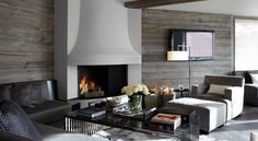 Commercial Residence, Verbier, Switzerland - Fiona Barratt Interiors