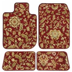 Ggbailey Mercedes-Benz S-Class (Sedan) Red Oriental Car Mats, Custom Fit for 2006 - Driver, Passenger & Rear Carpet Car Mats Honda Civic Coupe, Honda Civic Hatchback, Toyota Camry, Toyota Corolla, Elantra Coupe, Tesla Model X, Bmw Classic Cars, Bmw Z3, Crafting