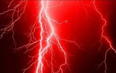 Red Lightning Wallpapers and Pictures