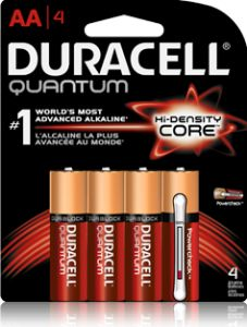 50 Cents off 1 Duracell Coppertop Quantum Batteries