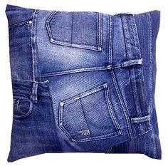 Le pouf en jean