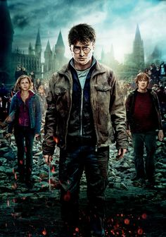 Directed by David Yates. With Daniel Radcliffe, Emma Watson, Rupert Grint, Michael Gambon. Harry, Ron and Hermione search for Voldemort& remaining Horcruxes in their effort to destroy the Dark Lord as the final battle rages on at Hogwarts. Harry Potter Poster, Harry Potter 7, Images Harry Potter, Harry Harry, Harry James, James Potter, Michael Gambon, Deathly Hallows Part 2, Harry Potter Deathly Hallows