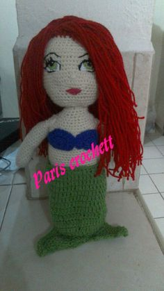 Sirenita crochett