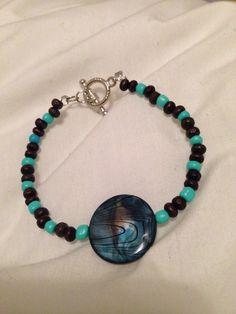Galaxy beaded bracelet $15