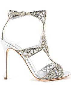SERGIO ROSSI Sergio Rossi Tresor Sandal 105Mm. #sergiorossi #shoes #https: