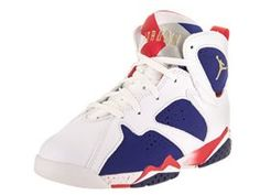 afa7e0077c2485 Nike Jordan Kids Jordan 7 Retro Bp Basketball Shoe  Relive the glory days  of MJ and his cartoon friend in this lightweight and responsive shoe built  for the ...