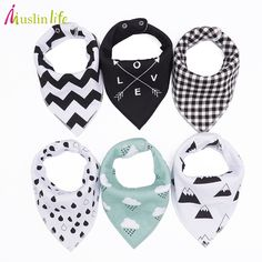 Cheap baby bibs, Buy Quality bibs burp directly from China triangle baby bibs Suppliers: Muslin life 20 styles 4pcs/lot bibs burp cloth print Arrow wave triangle baby bibs cotton bandana accessories