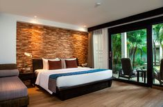 Newly refurbished, these spacious 36sqm Deluxe Pool Deck Rooms offer the privilege of having our lush garden just a few steps outside its private terrace. Each room is equipped with comfortable beds, a private terrace sitting area and an ensuite bathroom. Head offer to our website and receive an exclusive 37% discount!  #TheCamakilaLegianBali #CamakilaBali #Camakila #Legian #Bali