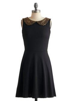 $54.99 Gilded Girl Dress, #ModCloth