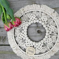 macrame/macrame anleitung+macrame diy/macrame wall hanging/macrame plant hanger/macrame knots+macrame schlüsselanhänger+macrame blumenampel+TWOME I Macrame & Natural Dyer Maker & Educator/MangoAndMore macrame studio Macrame Rings, Macrame Mirror, Macrame Art, Macrame Projects, Macrame Knots, Diy And Crafts, Arts And Crafts, Modern Wall Decor, Tapestry Weaving