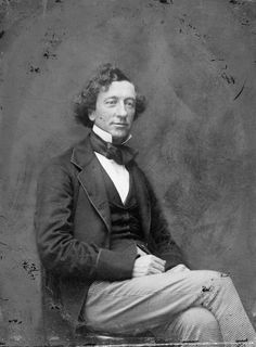 Sir John A. Macdonald, First Prime Minister of Canada.