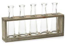 """13"""" Vase Holder w/ 5 Glasses on OneKingsLane.com"""