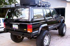 84 01 Jeep Cherokee XJ Rock Crawler Offroad Rear Bumper   eBay