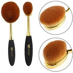 Neverland Beauty 2pcs Gold  #MakeupBrushesTools