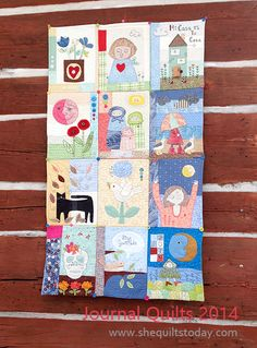 Journal Quilts, she quilts today, http://shequiltstoday.com/how-to-make-your-own-journal-quilt/