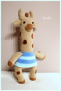 Amigurumi giraffe  #amigurumi #amigurumis #szydełkowa #żyrafa #crochet #giraffe #animal #toy