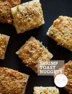 Shrimp Toast! I've been looking for a shrimp toast recipe forever!