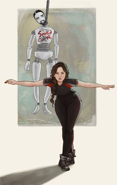 Adorable Hunger Games Fan Art (Almost) Makes You Forget About All That Pesky…