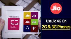 अब 3G स्मार्टफोन में भी चलेगी जियो 4G सिम