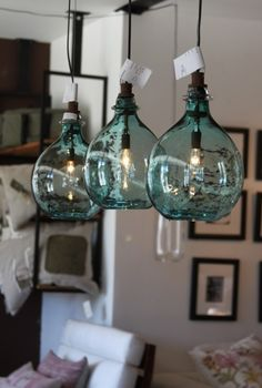 fles lamp