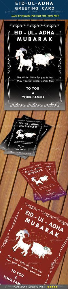 Eid-Ul-Adha Greeting Card