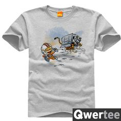 Calvin and Hobbes Hobbes Kevin Tiger Snow Walkers T-shirt plus fertilizer to increase - Taobao global Station