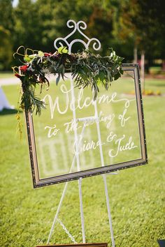 Custom Wedding Welcome Sign PLEASE read all by BeeCuriousDesigns