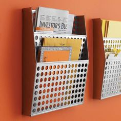 Circuit Wall File - contemporary - desk accessories - by Decorate Your Desk Wall File Organizer, File Organiser, File Organization, Letter Organizer, Entryway Organization, Office Storage, Classroom Organization, Organizers, Traditional Desk Accessories