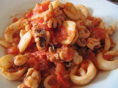 Mincir avec thermomix - Spécial régime DUKAN : Seiches à la sauce tomate - DUKAN